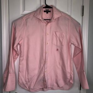 Tommy Hilfiger Pink & White Button Up Shirt